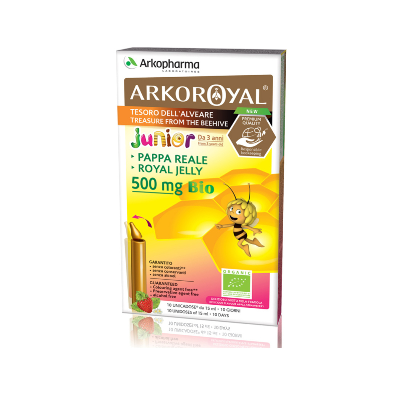 Arkoroyal  BIO 500 Méhpempő 10 db  immunerősítő gyerekeknek